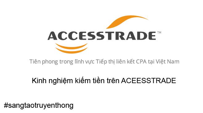 Kiếm Tiền Tại Việt Nam Với Chợ Affiliate Của ACCESSTRADE