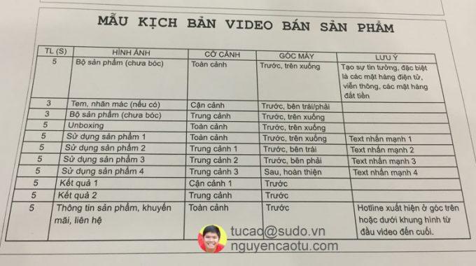 Bí quyết tự xây dựng Video Sale (Video bán hàng) hiệu quả