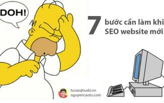 7 bước trước khi bạn bắt đầu SEO một Website mới