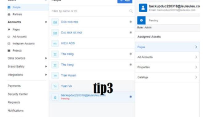 Backup tài sản doanh nghiệp trên Facebook bằng hệ thống Business Manager